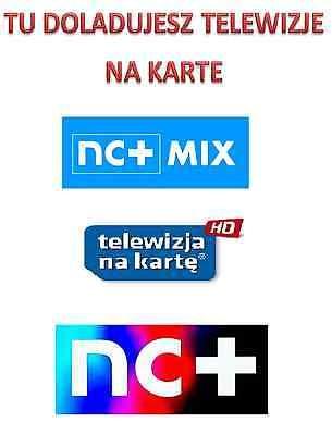 Telewizja N Na Karte Doładowanie.Doladowanie Mix Hd Telewizja Na Karte 3 6 12 Miesiecy Nc N Kamsat